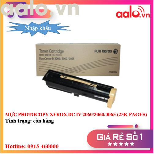MỰC PHOTOCOPY XEROX DC IV 2060/3060/3065 (25K PAGES) NHẬP KHẨU - AALO.VN