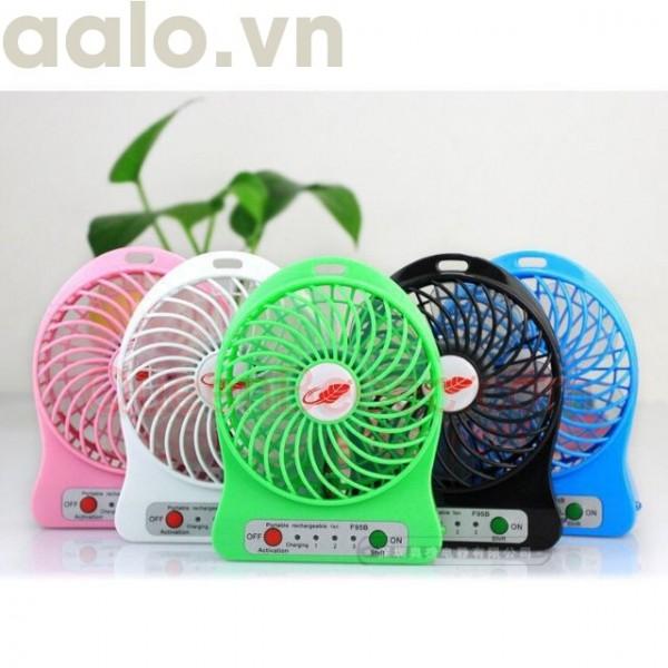 QUẠT USB 3 TỐC MINI MỚI FULL BOX - aalo.vn