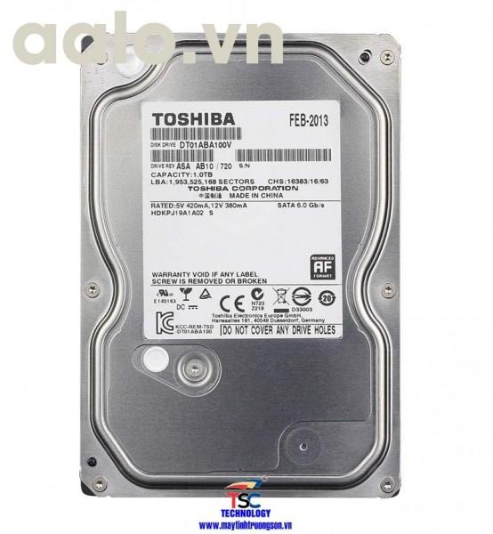 Ổ cứng Toshiba HDD 1TB | dùng cho máy tính bàn/ Camera