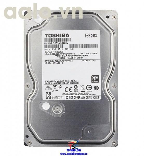 Ổ cứng Toshiba HDD 500Gb | dùng cho máy tính bàn