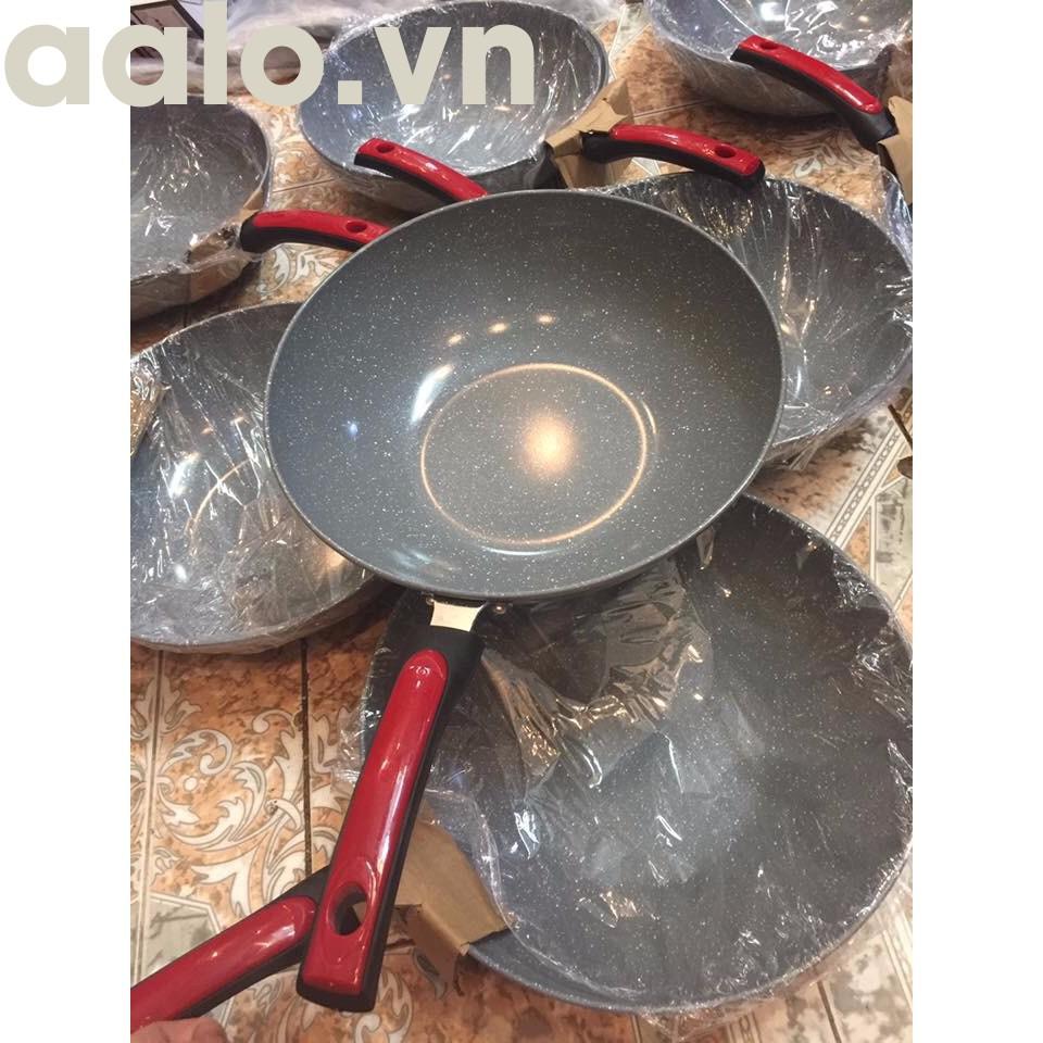 Chảo Vân Đá Ceramic Sâu Lòng 32cm