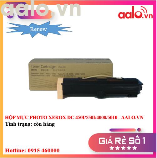 HỘP MỰC PHOTO XEROX DC 450I/550I/4000/5010 RENEW - AALO.VN
