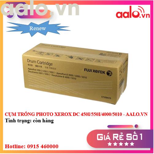 CỤM TRỐNG PHOTO XEROX DC 450I/550I/4000/5010 RENEW - AALO.VN