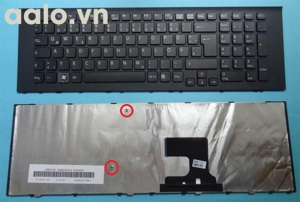 Bàn phím laptop SonyVPCEL3S1E VPCEL2S1E VPCEL2S1E/B VPCEL4Z1E - keyboard Sony