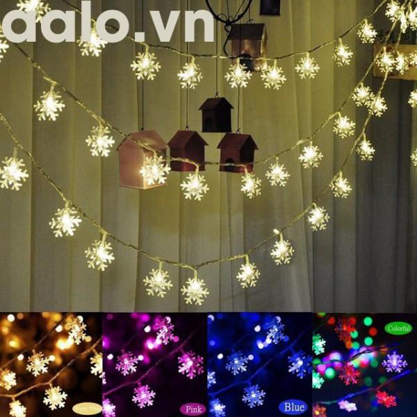 Đèn Nháy Trang Trí Hình Bông Tuyết
