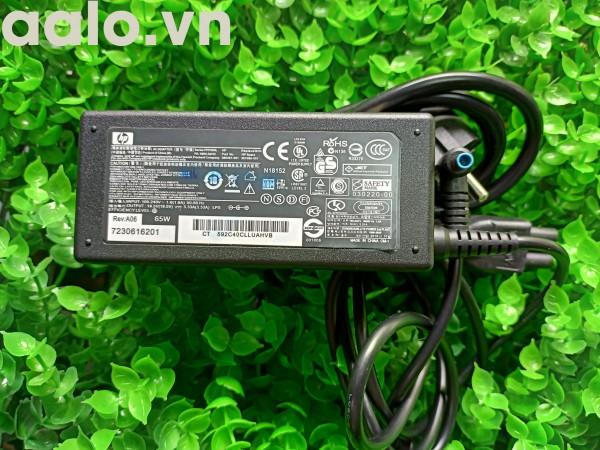Sạc laptop  HP 19.5V 3.33A 65W Chân xanh kim nhỏ