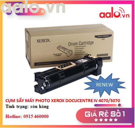 CỤM TRỐNG PHOTO XEOX DOCUCENTRE V 4070/5070 - (RENEW) - AALO.VN