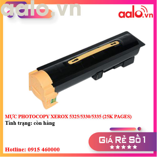 MỰC PHOTOCOPY XEROX 5325/5330/5335 (25K PAGES) - AALO.VN