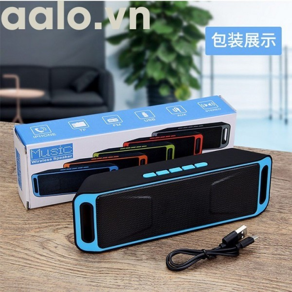 Loa di động Bluetooth SC208 - aalo.vn