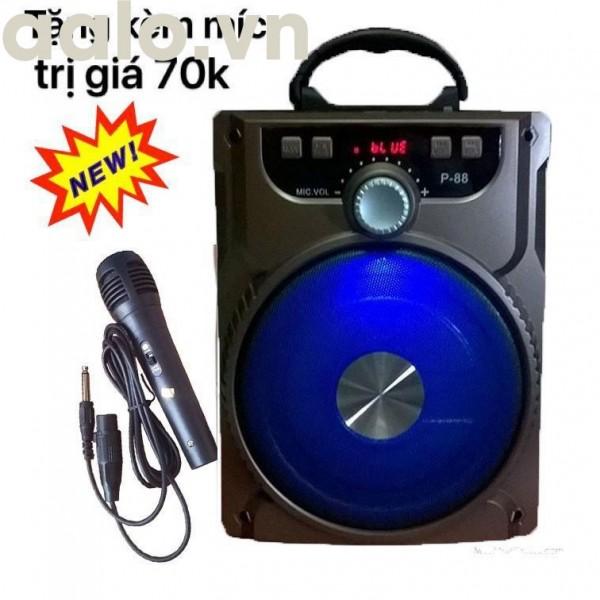 Loa Kéo Bluetooth P88/P89 Tặng Kèm Micro Hát Karaoke Cực Hay - LOA KÉO DI DỘNG ÂM THANH CỰC HAY - aalo.vn