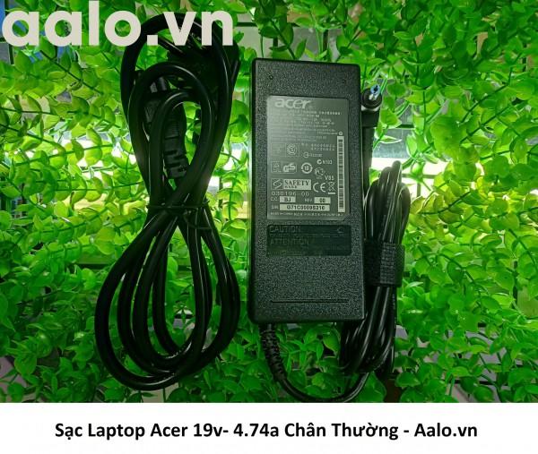 Sạc Laptop Acer 19v- 4.74a Chân Thường