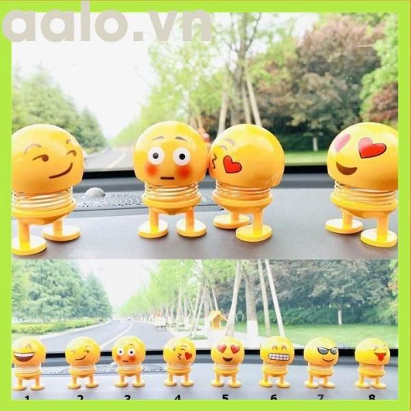 Combo bộ 6 Emoji lò xo hộp nhỏ thú nhún biểu tượng cảm xúc ngộ nghĩnh - aalo.vn