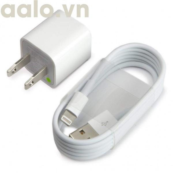 Bộ sạc cáp cho điện thoại Iphone 5/5S/6/6S/7/7s - aalo.vn
