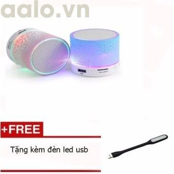 Combo 2 Loa Bluetooth có đèn led nháy theo nhạc ( tặng 1 đèn led USB xinh xắn) - aalo.vn