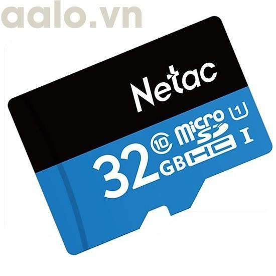 ( SIÊU SẬP GIÁ ) Thẻ nhớ MicroSD Netac 32G - aalo.vn
