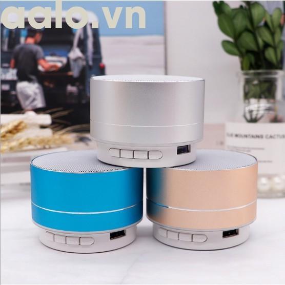 Loa bluetooth A10 mini vỏ nhôm di động loại tốt - aalo.vn