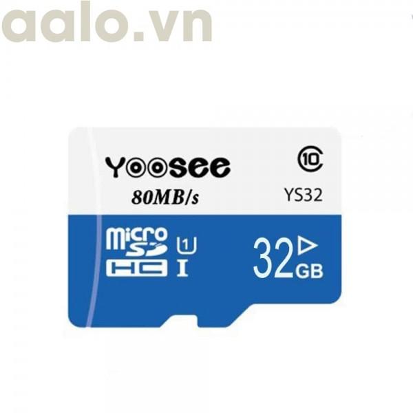 Thẻ nhớ chuyên dụng dùng cho camera wifi YOOSEE 32G - aalo.vn