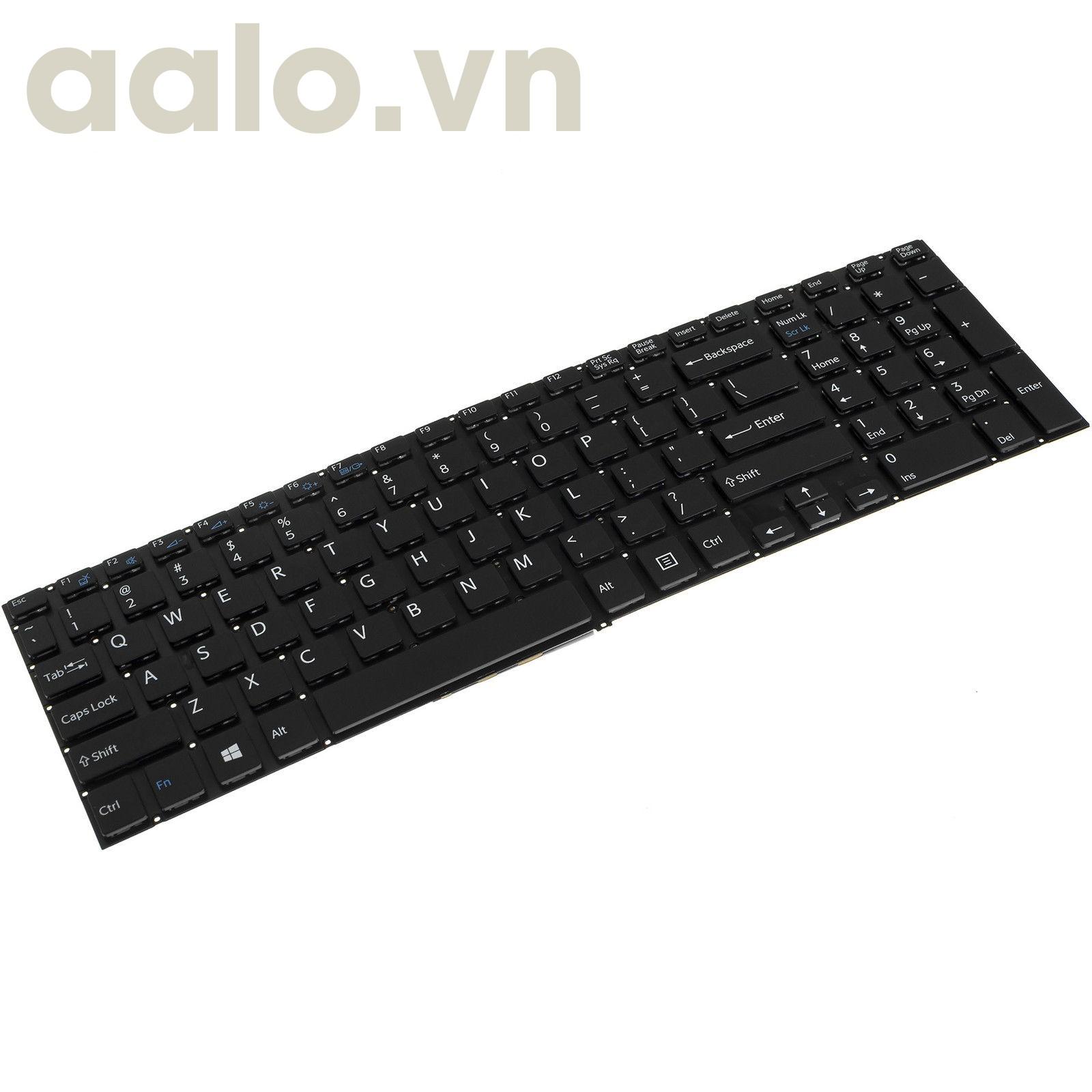 Bàn phím laptop SonyVaio SVF15A15STB Laptop / Notebook QWERTY US English- keyboard Sony