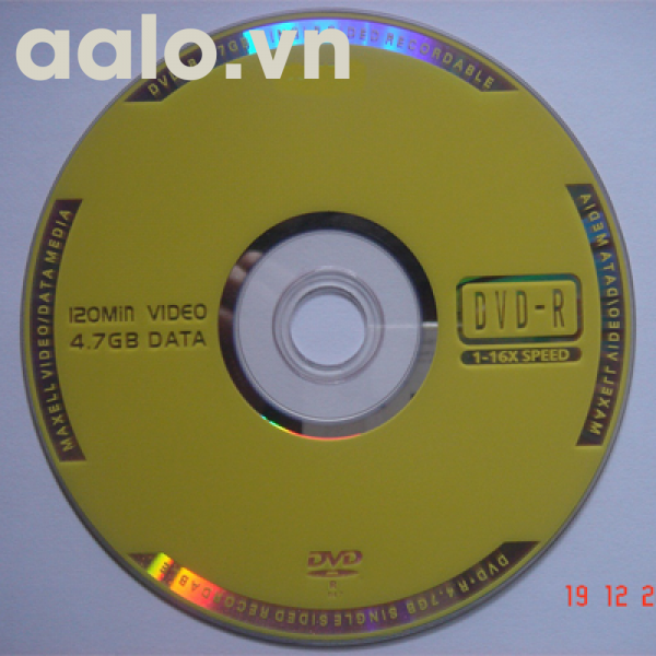 Đĩa trắng DVD Maxcel 100c