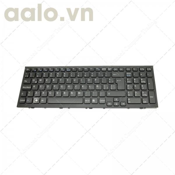 Bàn phím laptop SonyKEYBOARD LATIN SONY VPCEH3F1R/W BLACK FRAME BLACK - keyboard Sony