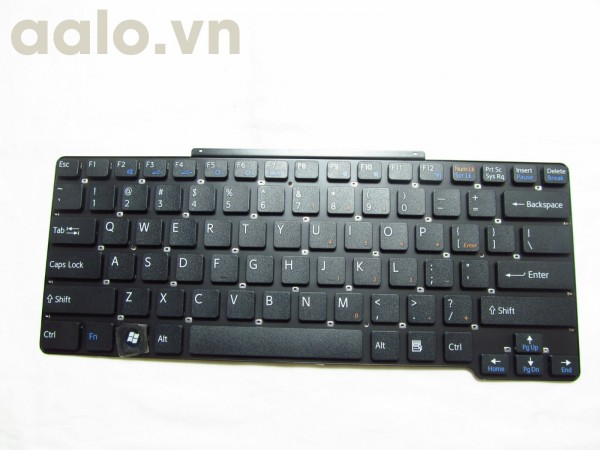Bàn phím laptop Sony Black VGN-SR Laptop Keyboard 148088721, 1-480-887-21 - keyboard Sony
