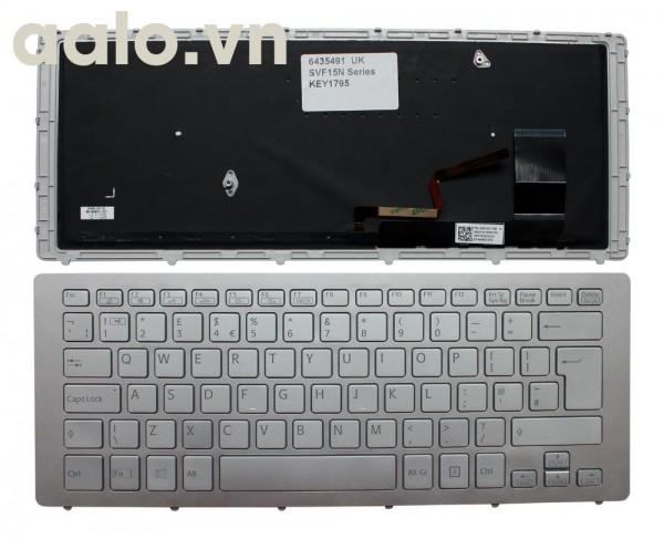 Bàn phím laptop Sony Vaio SVF15N18PXB- keyboard Sony