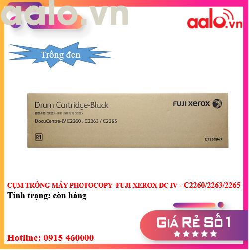 CỤM TRỐNG MÁY PHOTOCOPY  FUJI XEROX DC IV - C2260/2263/2265 ( TRỐNG ĐEN ) - AALO.VN