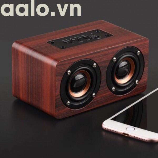 Loa Gỗ Bluetooth HIFI Super Bass Stereo speaker ADP-G4 - aalo.vn