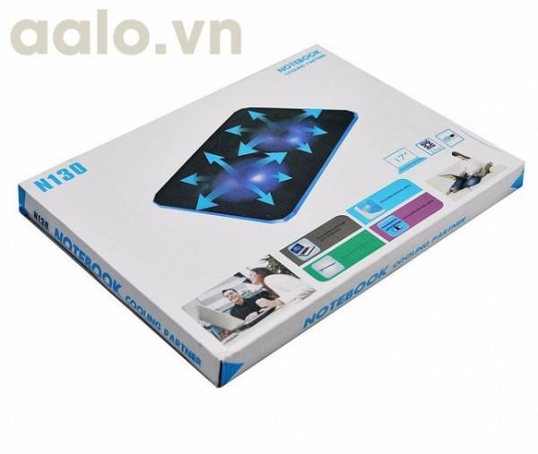 Đế tản nhiệt laptop N130 ( 2 fan to )