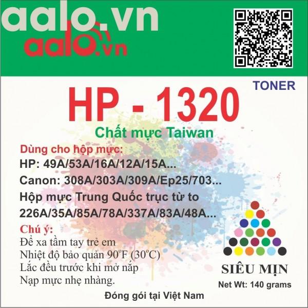 Mực đổ máy in aalo.vn  HP /Canon  1320 dùng cho hộp mực  12a 49a 337a 226a...