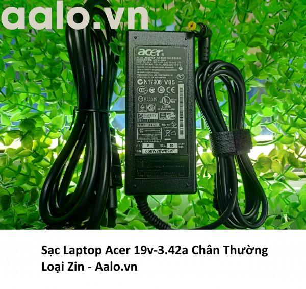 Sạc Laptop Acer 19v-3.42a Chân Thường Loại Zin