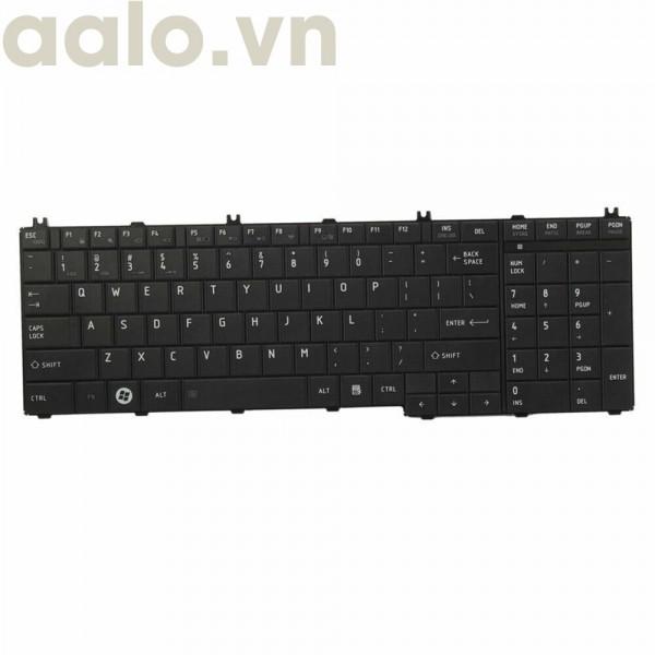 Bàn phím Laptop Toshiba satellite L650, L650D, L655, L655D