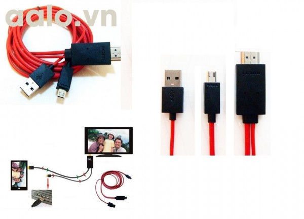 Cable MHL S3,4,5 Samsung