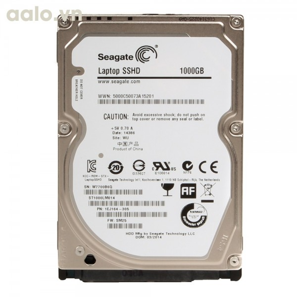 Ổ cứng HDD Laptop Seagate 1TB - HDD 1000Gb