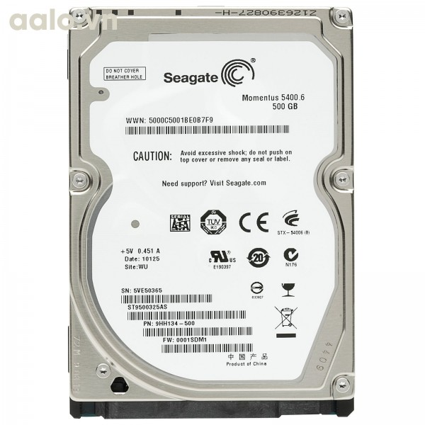 Ổ cứng HDD Laptop Seagate 500 GB