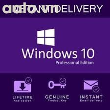 Key Windows 10 Professional English 32/64 Bit OEM 5 PC