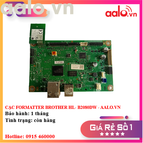 CẠC FORMATTER BROTHER HL- B2080DW - AALO.VN