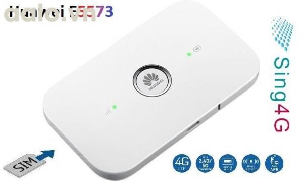 Bộ phát wifi di động 4G đa mạng Huawei E5573