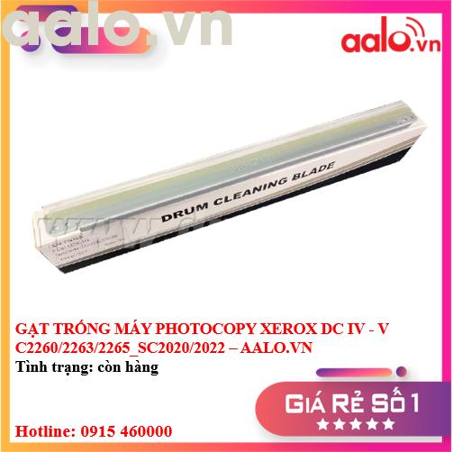 GẠT TRỐNG MÁY PHOTOCOPY XEROX DC IV - V C2260/2263/2265_SC2020/2022 - AALO.VN