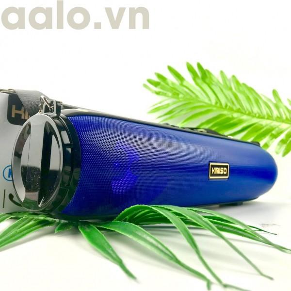 Loa Bluetooth Xách Tay Kimiso KM-203 Âm Bass Siêu Trầm, Đèn Led cảm ứng Sống Động ( Có dây đeo tiện lợi - âm thanh hay) - aalo.vn