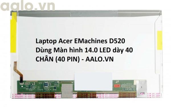 Màn hình laptop Acer EMachines D520