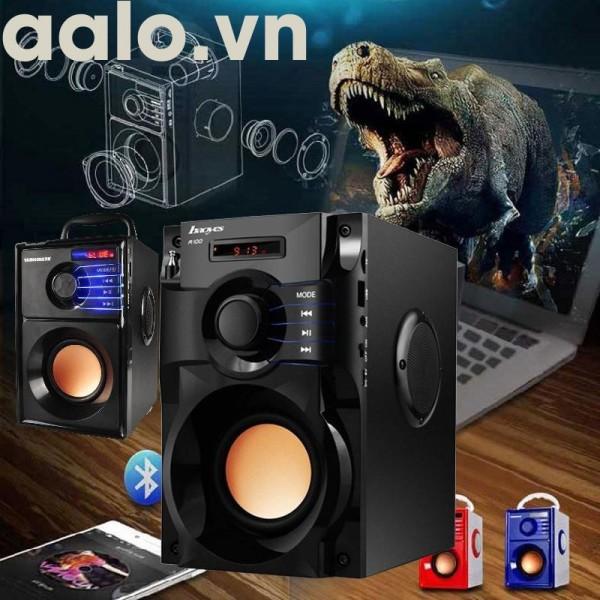 Loa Nghe nhạc Bluetooth Cao Cấp Super Bass RS - A100 (có điều khiển từ xa) - aalo.vn
