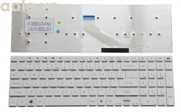 Bàn phím laptop Acer 5830 (Trắng)