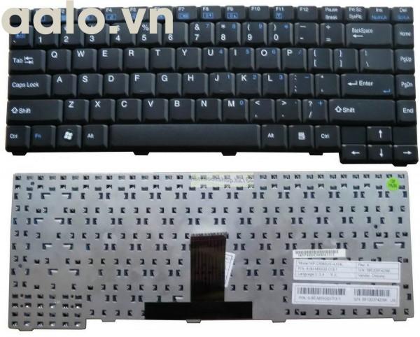 Bàn phím Laptop CLEVO M54 M54N M540N M54V M540V