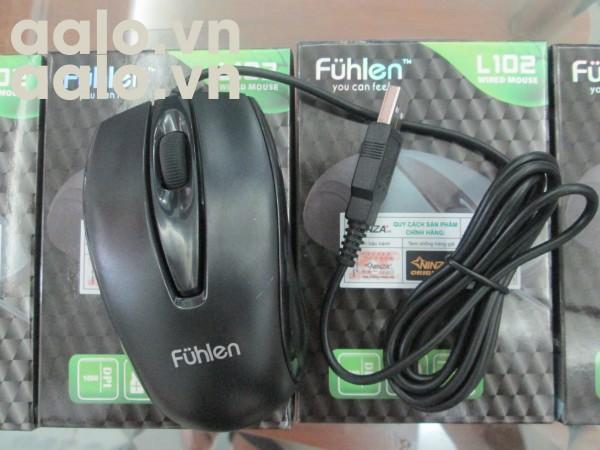 Chuột máy tính Fulhen - Mouse Fuhlen L102 Optical Black