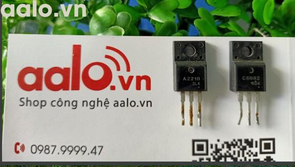 Bộ 2 Transistor ( A2210 -C6082) dùng cho máy in màu 1390,T50,T60 - Tất cả các dòng máy epson đều dùng được