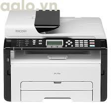 Máy In A4 Laser Đa Năng Ricoh SP210SF Scan Copy Fax - Hàng Chính Hãng