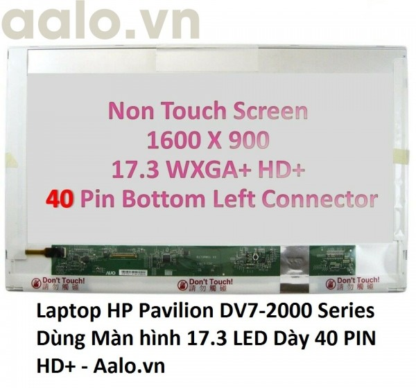 Màn hình Laptop HP Pavilion DV7-2000 Series