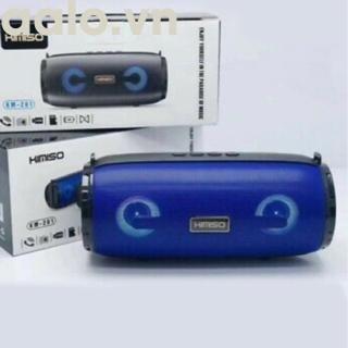 Loa Bluetooth Nghe Nhạc KM-201 Âm Thanh to Bass Siêu Trầm Hiệu Ứng Đèn Led Đổi Màu Theo Nhạc (có dây đeo) - aalo.vn