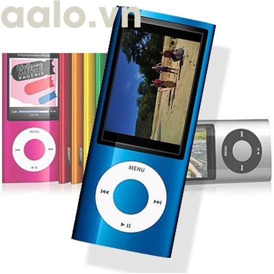 Máy Nghe Nhạc MP4 Kiểu Dáng Ipod Năng Động, có màn hình LCD hiển thị ( tặng kèm 1 tai nghe kéo khóa chống dối dây) - aalo.vn